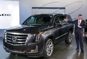 Escalade Cadillac 2015 2015 Cadillac Escalade Priced From 72 690