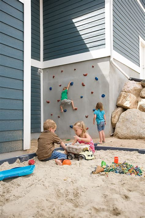 Backyard Climbing Wall by 5 Ways To Make Your Backyard More