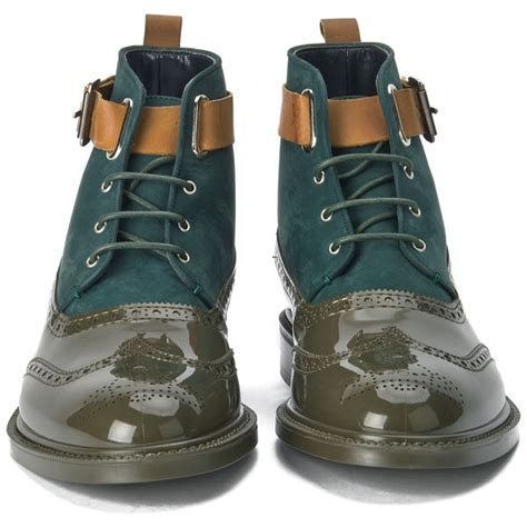 mens vivienne westwood boots vivienne westwood s lace up leather suede brogue boots