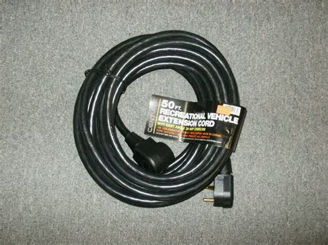 100 Foot 50 Rv Extension Cord by 50 Ft Foot 30 Rv Century Extension Cord Black 58 99