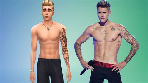 singer justin bieber best celebrity sims of the sims 4
