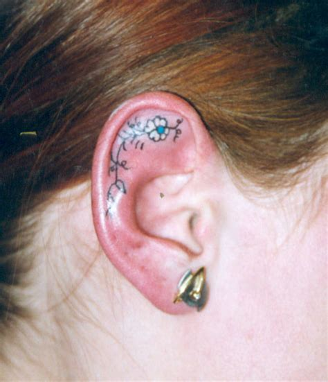 inner ear tattoo designs tattoos page 5