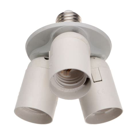 bulb l socket us 3 4 in 1 e27 base light l bulb adapter holder socket