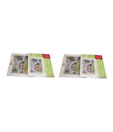 Handmade Watercolour Paper - ecofocus handmade watercolour paper pad set of 2 buy