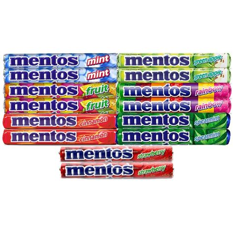 Mentos Roll Strawberry 1 32 Ounce apple mentos nutrition facts besto