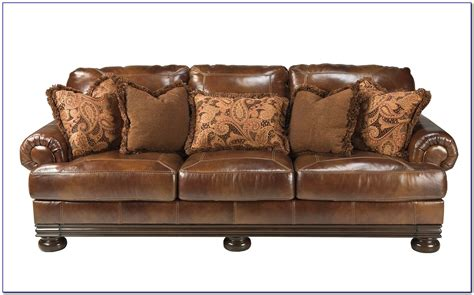 ashley furniture leather sofa bed furniture home