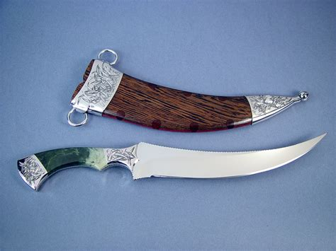 fisher knife quot desert wind quot dagger collector s knife by