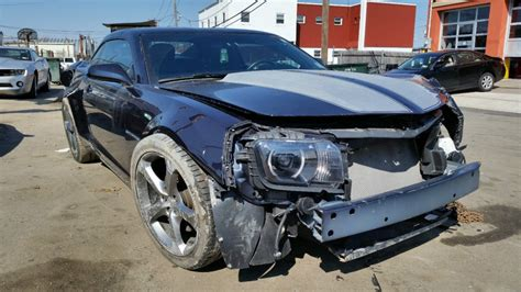 wrecked camaro 2013 chevrolet camaro rs coupe 3 6l salvage wrecked for sale
