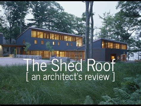 Modern house plans shed roof   House design plans