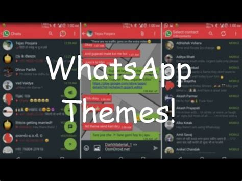 themes for whatsapp free how to add change themes in whatsapp 2016 youtube