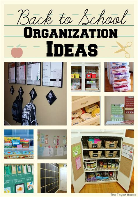 organization tips for school get organized for back to school time page 2 of 2 the