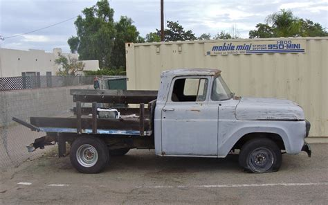 stake bed the street peep 1958 ford f100 stake bed