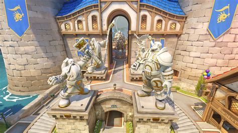 The Biggest Blizzard by New Overwatch Map Is A Blizzard Theme Park Blizzard World