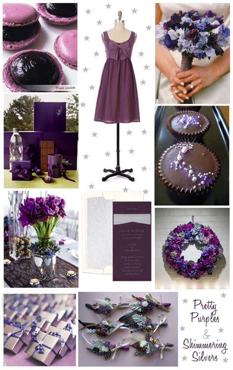 dark purple and light blue wedding ideas planning