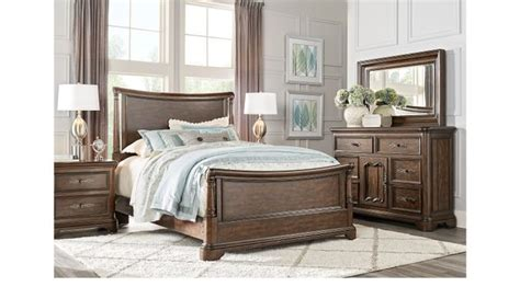 sale regal traditional 5 pc cherry sleigh bedroom set notting hill cherry 5 pc queen sleigh bedroom traditional