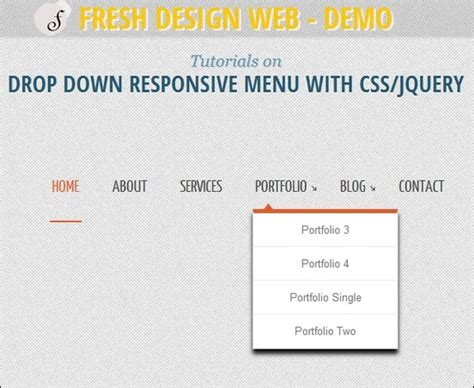 tutorial menu css jquery 17 responsive menu tutorials with free scripts