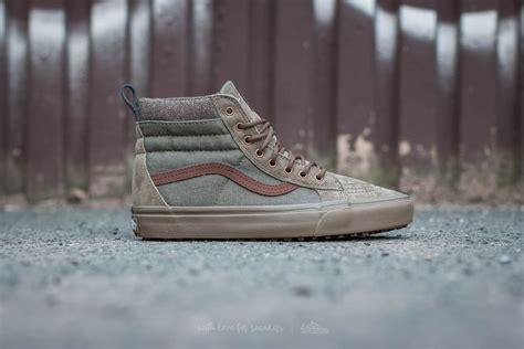 New Sepatu Vans Skool Green Gum Premium Quality Waffle Dt Kece vans sk8 hi mte dx mte green gum footshop