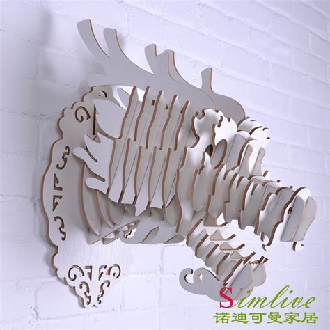 decorative wall objects aliexpress buy white diy wooden for wall