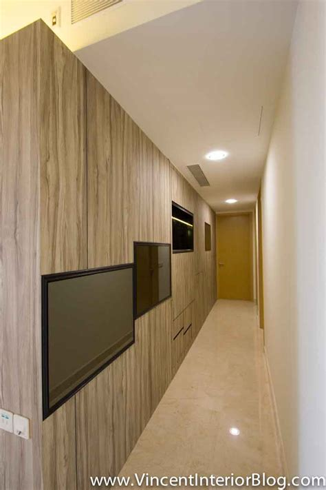 Brick Wall Apartment singapore condominium parc seabreeze renovation by raymond