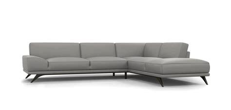 corrected grain leather sofa upholstered in european tendresse leather corrected grain