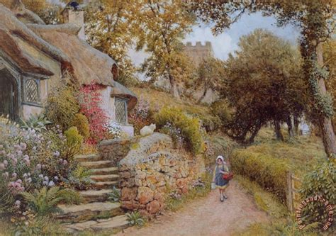 arthur claude strachan a country painting for sale paintingandframe