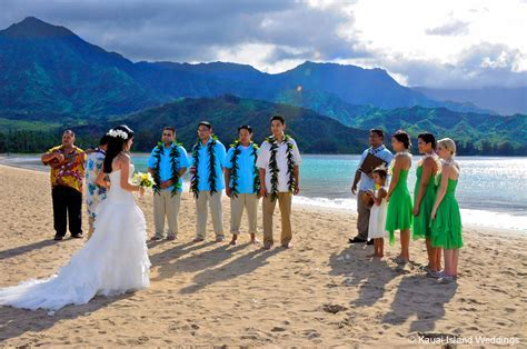 Destination Weddings on Kauai, Hawaii: Hanalei Bay, Kauai