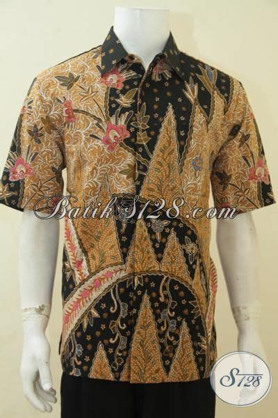 Size Baju Executive batik baju kerja pria muda pemangku jabatan hem batik tulis lengan pendek furing langganan