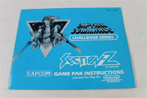Section Z by Manual Section Z Nes Nintendo Shooter Maze