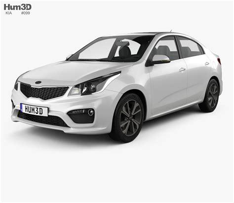 kia model kia k2 sedan 2017 3d model hum3d