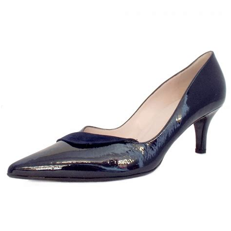 navy patent shoes kaiser soralia navy patent leather evening
