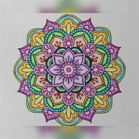 imagenes de mandalas morados 1001 ideas de dibujar mandalas f 225 ciles e interesantes