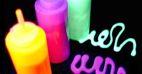 glow in the paint recipe glow in the doodle paint recipe growing a jeweled