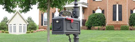 better mailboxes better box mailboxes decorative cast aluminum mailboxes