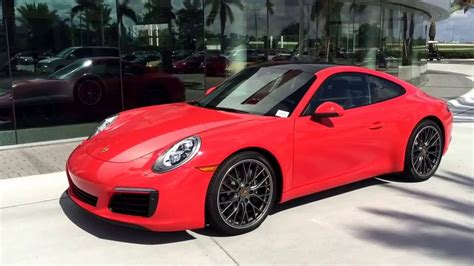 lava orange porsche 2017 lava orange porsche 911 370 hp porsche