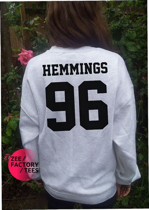 Band T Shirt Kaos 5sos This Luke Hemmings luke quot hemmings 96 quot sweater 5 second of summer 5sos michael ashton callum ashton boy band t shirt