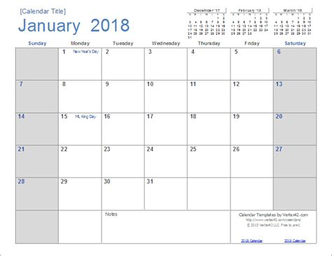 Calendar Docs Template 2018 2018 Calendar Templates And Images