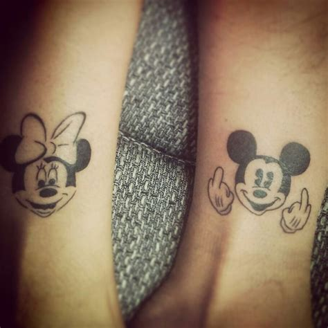 mickey mouse tattoo for couples 11 best mickey mouse superheroe images on pinterest