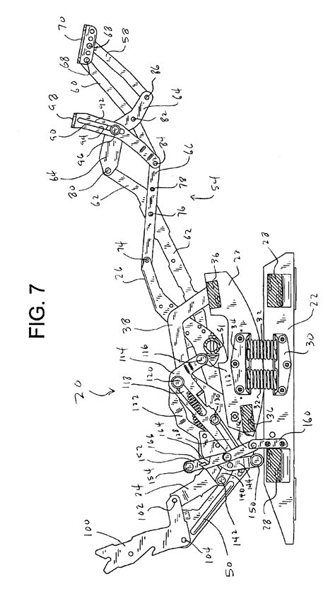 Lazy Boy Recliner Parts List by Patent Us6945599 Rocker Recliner Mechanism Patents