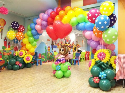 balloon decoration for birthday party at home home design kids party planning your twisty balloons