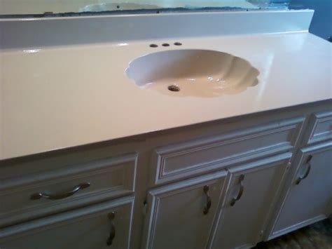 paint bathroom countertop painting a bathroom countertop for the home pinterest