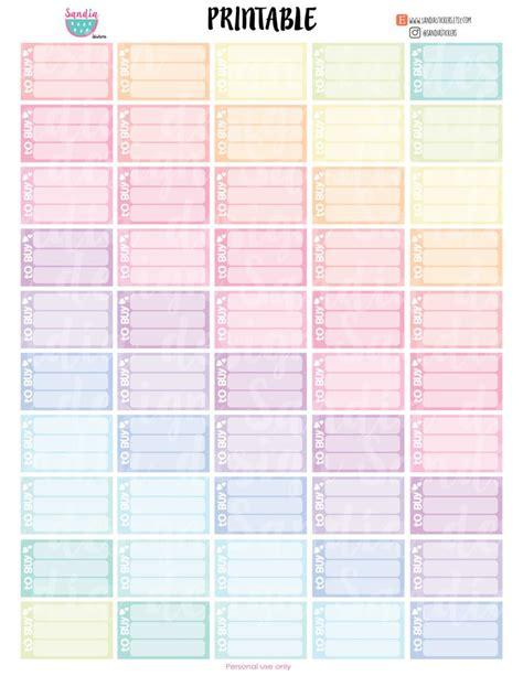 printable calendar planner stickers 59 best printable planner stickers images on pinterest