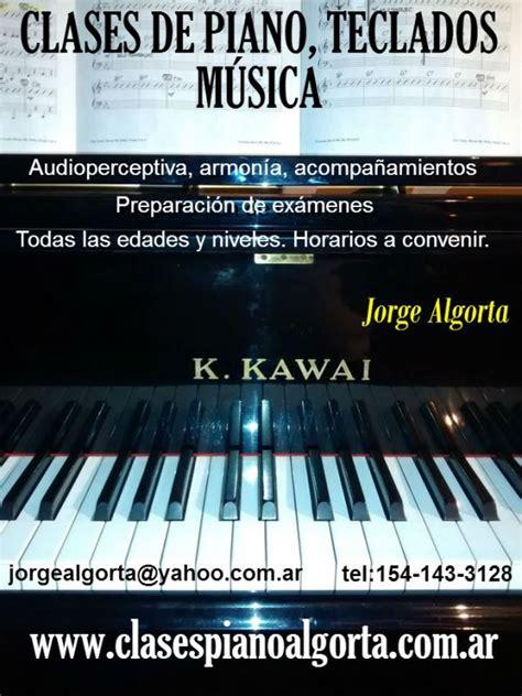 ensenanza piano organo teclados musica clases