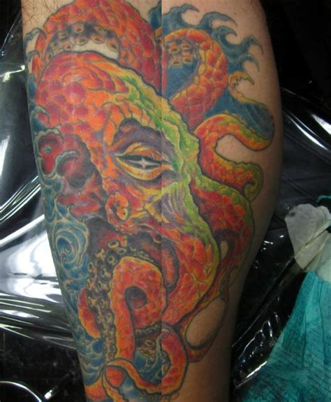 tattoo gallery octopus octopus tattoo hand