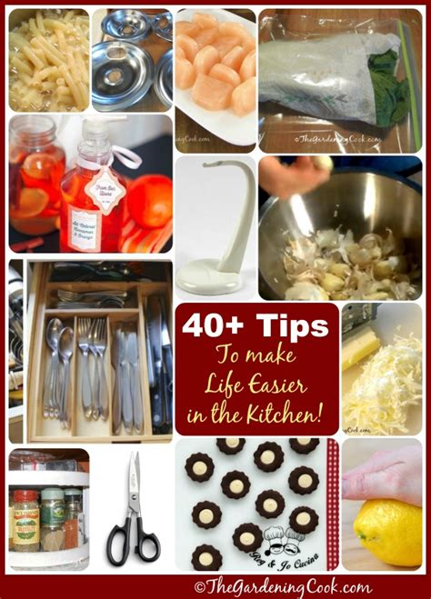 40 cheap kitchen cleaning tips that will make your 40 kitchen tips to make your life easier the gardening cook