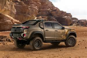 Chevrolet Colorado Road Biser3a Chevrolet Reveals Colorado Zh2 Road Truck
