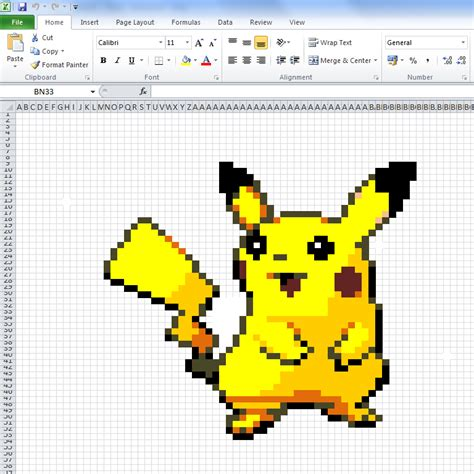 how to make doodle using excel 10 works of made in microsoft excel