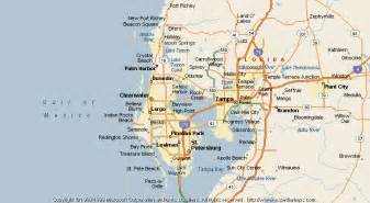 where is tarpon springs florida map map of tarpon springs