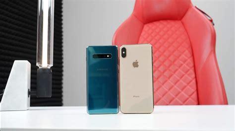 iphone xs max vs samsung galaxy s10 plus test