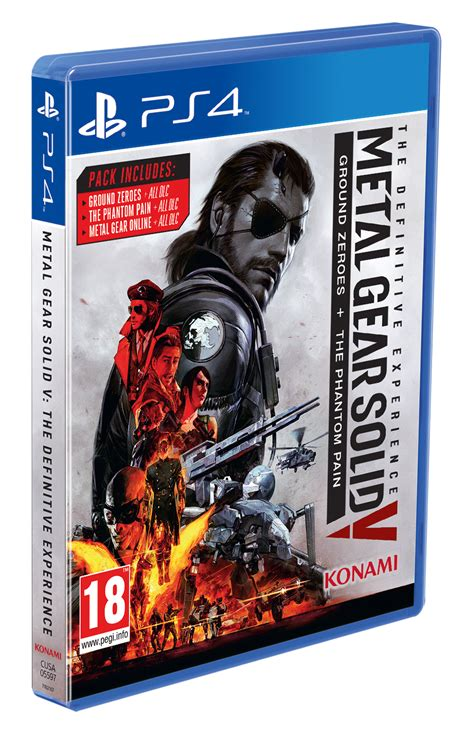 Ps4 Metal Gear Solid V Definitive Experience 2 eng ps4 3d packshot mgsv tde god is a reviews previews podcasts