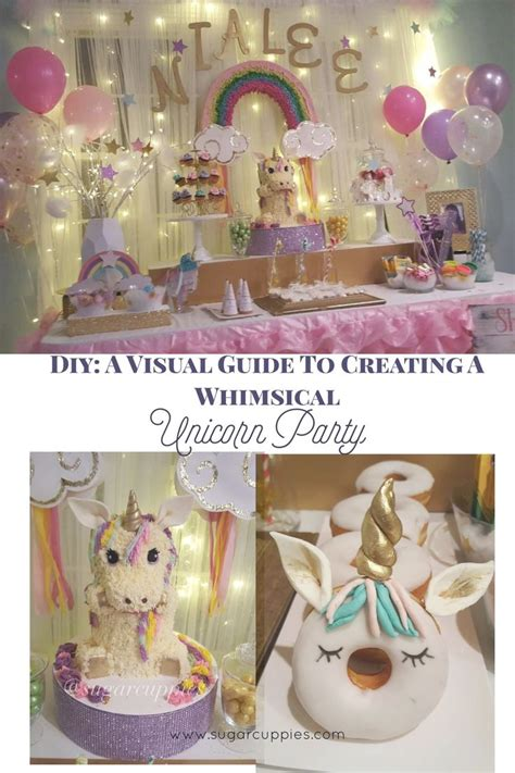party themes diy 120 best unicorn party images on pinterest unicorn party